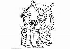 circus coloring pages clipart free printable coloring pages
