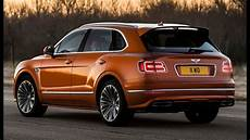 2020 bentley bentayga speed 190 mph fastest suv in the