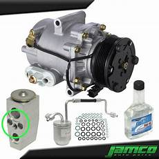 automobile air conditioning service 2005 chevrolet equinox security system new ac compressor kit a c for 2005 chevrolet equinox 3 4l single stud exp valve ebay
