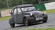a citroen 2cv is silly with 95 hp and a lunatic
