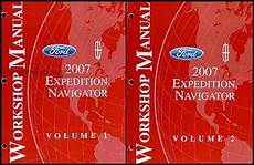 free car manuals to download 2007 ford expedition instrument cluster 2007 expedition navigator repair shop manual 2 volume set original