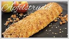 apfelstrudel mit blätterteig apfelstrudel aus bl 228 tterteig mit ger 246 steten mandeln
