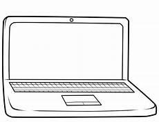 malvorlagen laptop coloring and malvorlagan