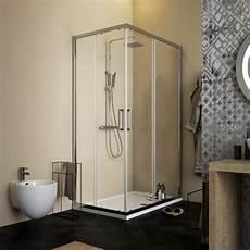 profili per doccia box doccia profili cromati 70x90 cristallo anticalcare