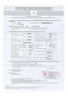 Le Certificat De Conformit 233 D 233 Livr 233 Par Le Constructeur