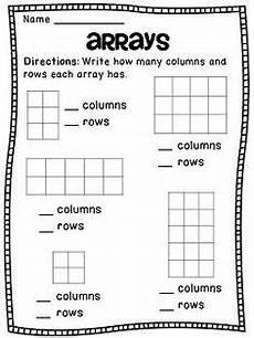 rectangular array division 4th grade worksheets 6701 learning ideas grades k 8 introducing multiplication quiz and worksheet 2nd grade