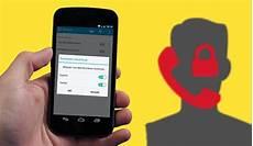 Bloquer Les Appels Inconnus Sur Samsung Galaxy Android