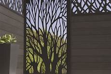 brise vue mural panneau occultant blooma idaho chez castorama jardin