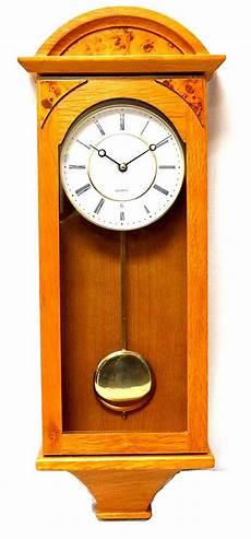 jack david j d best pendulum wall clock silent decorative wood clock with swinging pendulum