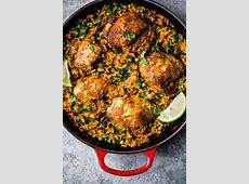 puerto rican arroz con pollo  rice and chicken_image