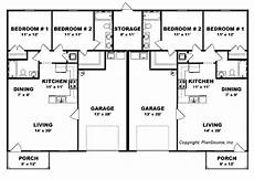 duplex house plans with garage bedroom duplex plan garage per unit open floor plans