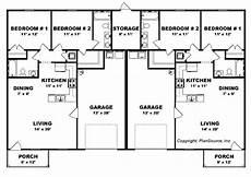 duplex house plans with garage bedroom duplex plan garage per unit open floor plans