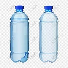 Vektor Botol Air Transparan Gambar Unduh Gratis Grafik