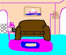simpsons wohnzimmer the s living room drawception