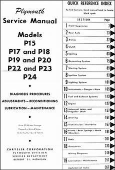 plymouth service repair manual download pdf 1946 1953 plymouth repair shop manual original
