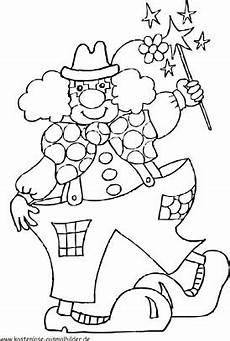 Kostenlose Malvorlagen Clown Gratis Ausmalbilder Clowns Ausmalbilder
