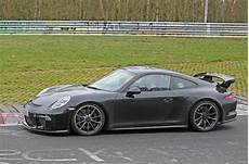 porsche 911 gt3 2017 2017 porsche 911 gt3 facelift spotted undisguised autocar