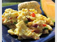 doctored up scrambled eggs_image