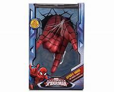3d marvel spiderman hand wall light red mumgo com au