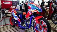 Modifikasi Beat 2016 by Modifikasi Ekstrim Honda Beat Jadi Motor Balap Keren