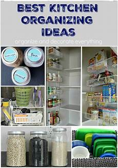 Organizing My Kitchen by 10 Of The Best Kitchen Organizing Ideas Organize And