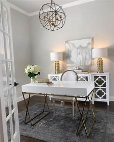 White And Gold Home Decor Ideas by Home Office Inspiration White And Gold Desk White