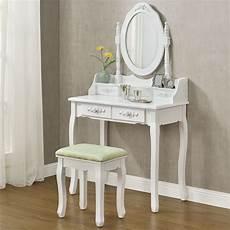 schminktisch mit spiegel und hocker schminktisch kosmetiktisch frisiertisch hocker spiegel