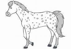 bibi und tina ausmalbilder pferde 04 pferde zeichnen