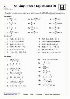 year 9 algebra worksheets uk 8613 solving equations maths worksheet algebra worksheets solving linear equations pre algebra