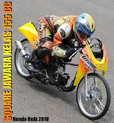 Beat Modification Drag bore up yamaha mio honda beat drag bike racing chion