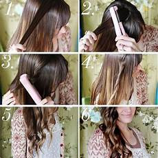 best tutorials how to curl your hair with flat
