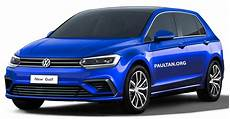 vw golf 8 2019 volkswagen golf mk8 rendered with new styling
