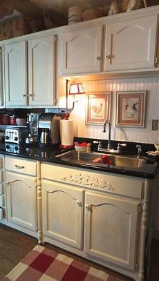 Painted Kitchen Furniture Ash Tree Cottage Freshly Painted Kitchen Cabinets