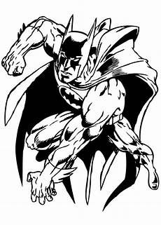 Malvorlagen Superhelden Classic Batman Is Ready Coloring Pages Hellokids