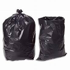 sac poubelle noir pour gravats et d 233 chets lourds 100l