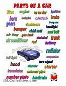 Car Worksheets  PARTS OF A CAR Worksheet Free ESL