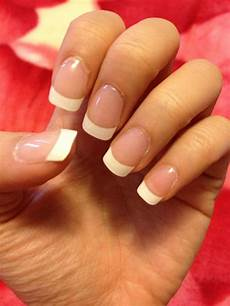 image result for acrylics nails french tip french tip