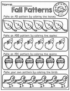 fall patterns fall is all around us math patterning