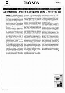 roma tassa di soggiorno il roma su tassa di soggiorno david lebro
