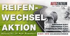 Reifenwechsel Aktion Autozentrum Hettstedt Gmbh Im
