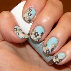 kawaii nail art spring flowers