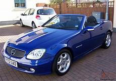 2001 mercedes slk 230 kompressor automatic blue metallic