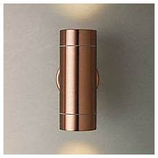 buy john lewis sabrebeam outdoor double wall light copper online at johnlewis com lighting