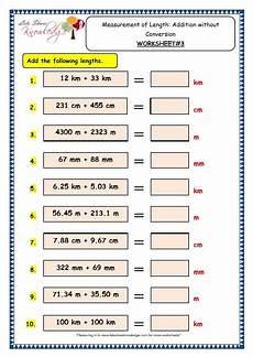 measurement of time worksheets grade 3 1609 grade 3 maths worksheets 11 4 measurement of length addition without conversion lets