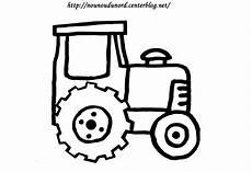 Dessin Simple Tracteur