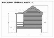 elevated cubby house plans cubby house v04 ezebuilt