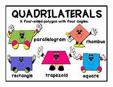 multiplication worksheets kindergarten 4454 free poster set with graphics for polygons and quadrilaterals quadrilaterals math geometry
