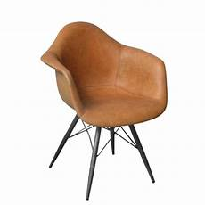 nows home vintage 70er designer leder armlehnstuhl neu