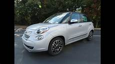 Fiat 500l Lounge - 2014 fiat 500l lounge start up exhaust and in depth