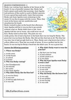 reading comprehension for beginner and elementary students 3 teaching reading comprehension